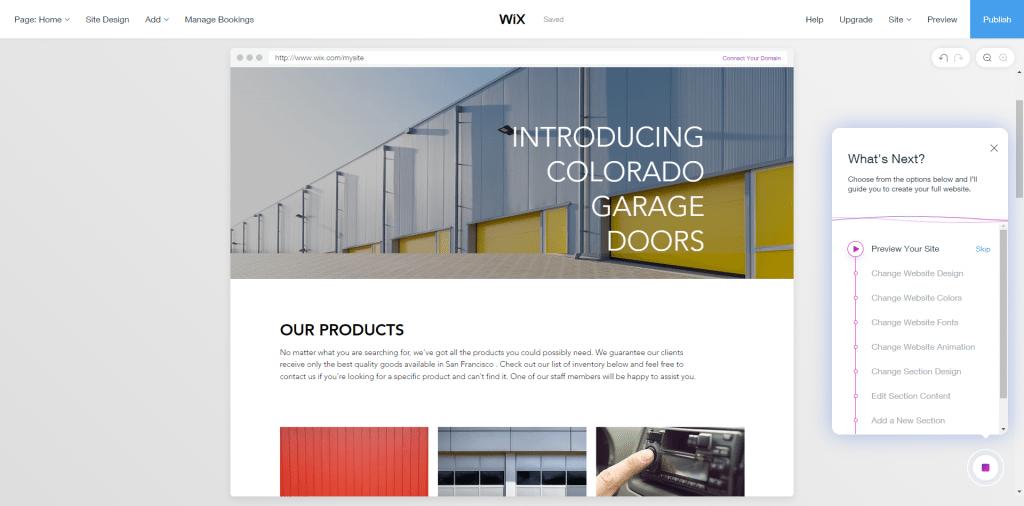 Wix ADI website