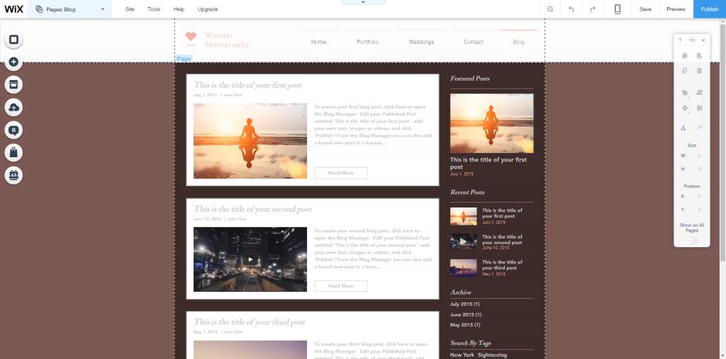 Wix apps blog