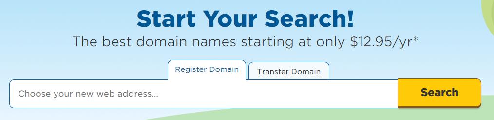 Domain Search HostGator