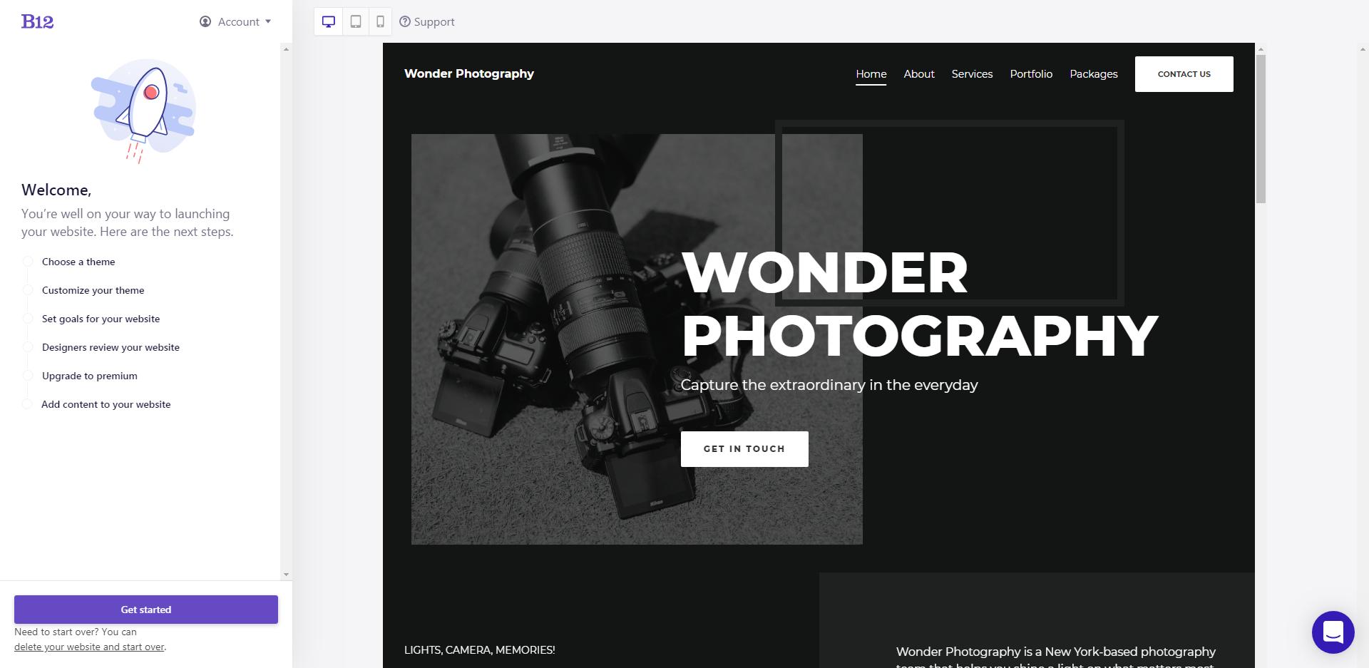 B12 website
