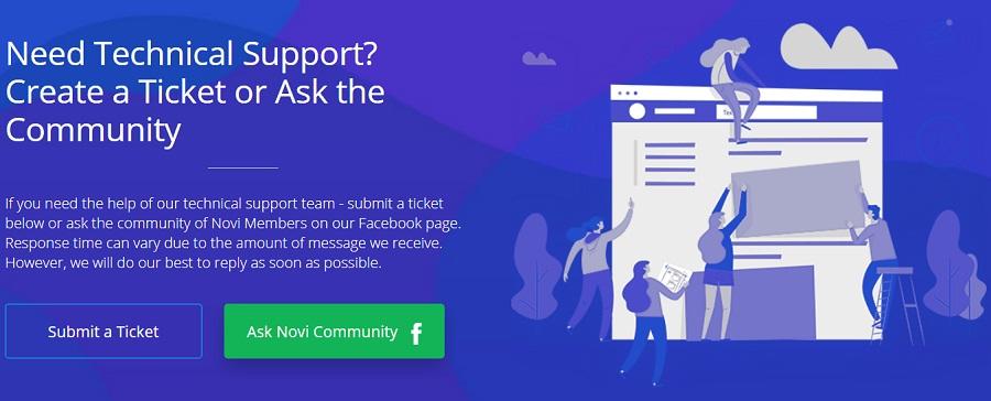 novi support